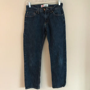 Levi's / 514 Straight 29 x 29 Dark Denim 18 Reg